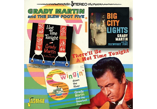 Grady & Slew Foot Martin - There'll Be A Hot Time  - (CD)