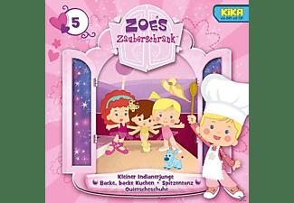 Zoes Zauberschrank (tv-hörspiel) - 5: Indianerjunge/Kuchen/Spitzentanz/Quietschschuhe  - (CD)