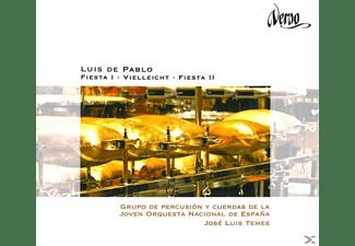 Temes/Grupo de Percusión y Cuerdas - Fiesta I+II/Vielleicht  - (CD)