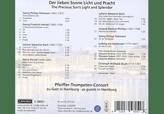 Pfeiffer-trompeten-consort - Der Lieben Sonne Licht Und Pracht  - (CD)