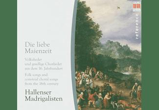 Hallenser Madrigalisten - Die Liebe Maienzeit  - (CD)