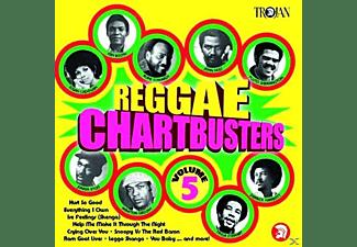 VARIOUS - Reggae Chartbusters Vol.5  - (CD)