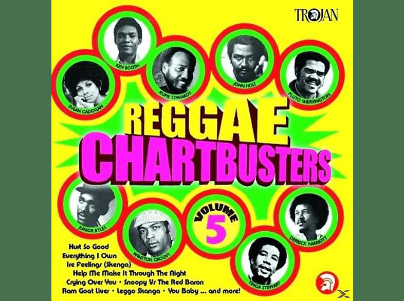 VARIOUS - Reggae Chartbusters Vol.5 [CD]