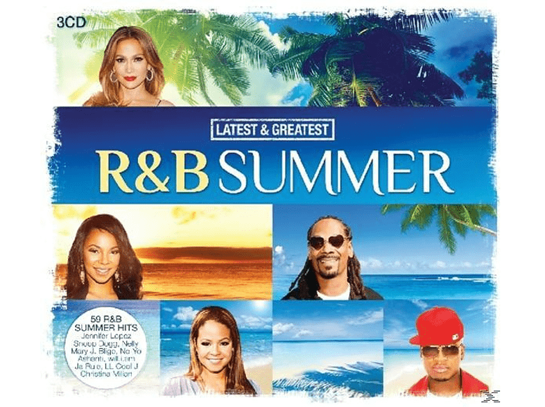 VARIOUS - R&B Summer-Latest & Greatest [CD]