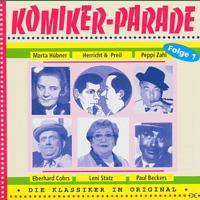 Herricht & Preil/Cohre/Statz/+ - Komiker-Parade Folge 01 [CD]