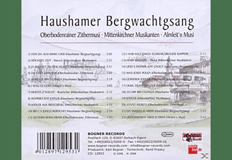 Haushamer Bergwachtgsang - Bergauf Bin I Ganga  - (CD)