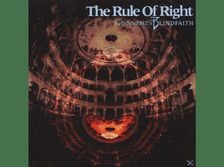 Simonz's Blind Faith - The Rule Of Right [CD]