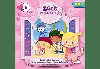 Zoes Zauberschrank (tv-hörspiel) - 6: Grüne Daumen/T.Rex/Zahnfee/Krikelkrakelland  - (CD)