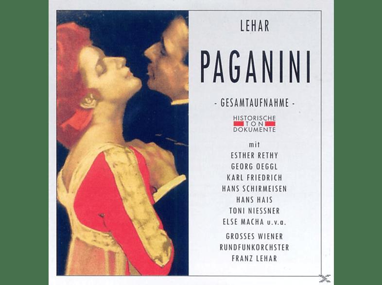 Wiener Rundfunkorch. - Paganini [CD]