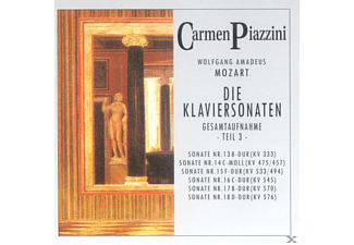 Piazzini Carmen - Die Klaviersonaten Teil 3  - (CD)