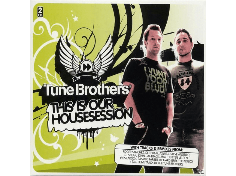 Tune Brothers - this is our housesession [CD]