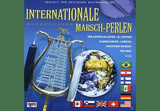 Deutsche Militärkapellen - Internationale Marschperlen  - (CD)
