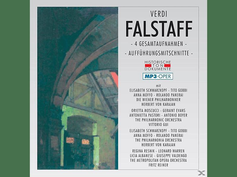 Wiener Philharmoniker, Wiener Staatsopernchor - Falstaff-Mp 3 [MP3-CD]