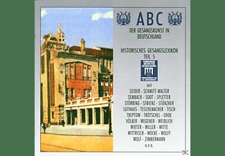 VARIOUS - Abc Der Gesangskunst Teil 5  - (CD)
