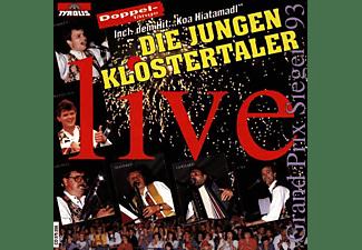 Die Jungen Klostertaler - Live (Doppellänge !!)  - (CD)