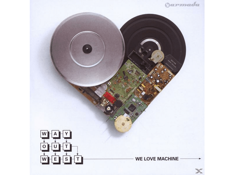 Way Out West - We Love Machine [CD]