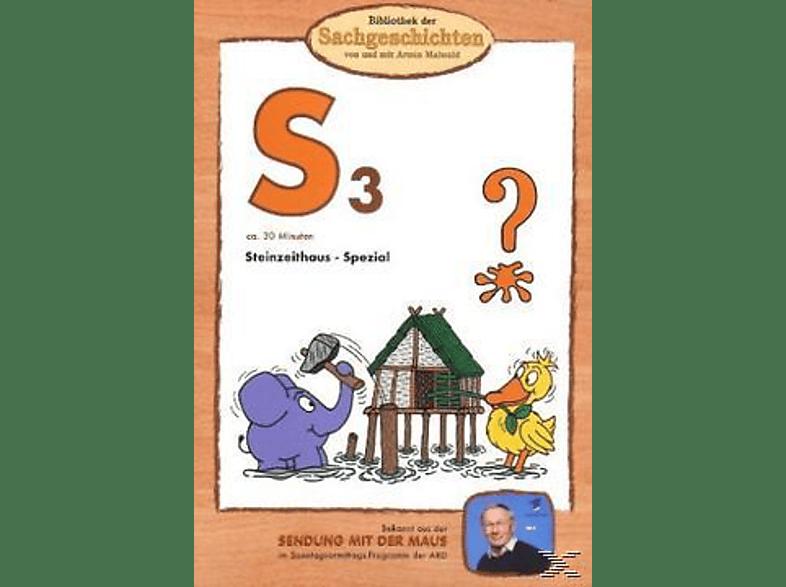 Bibliothek der Sachgeschichten - (B3) - Steinzeithaus-Spezial [DVD]