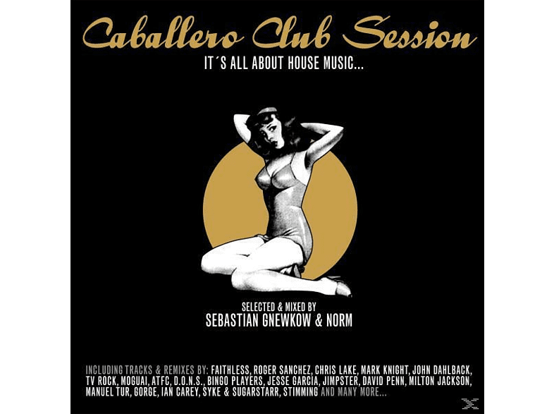 Sebastian/norm Various/gnewkow - Caballero Club Session [CD]