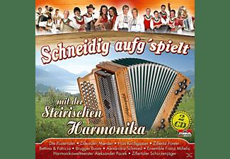VARIOUS - Schneidig Aufg'spielt  - (CD)