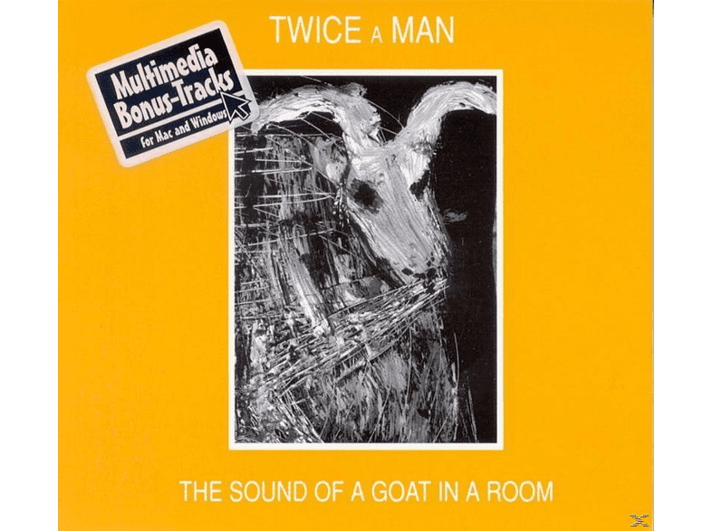 Twice A Man - The Sound Of A Goat In A Room [CD]