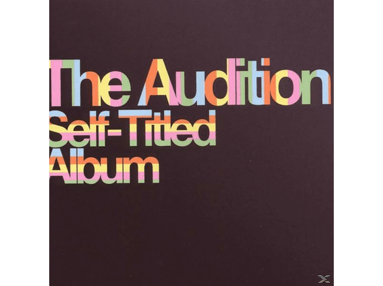 The Audition - Self-Titled Album [CD]