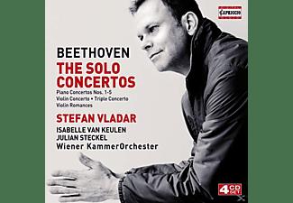 Julian Steckel, Isabelle Van Keulen, Wiener Kammerorchester - Solokonzerte  - (CD)