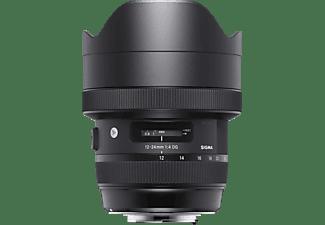 SIGMA 205955 12 mm - 24 cm f/4 DG, HSM, ASP (Objektiv für Nikon F-Mount, Schwarz)