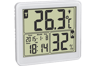 VIVANCO Digitales Thermo-Hygrometer, weiß