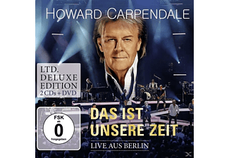 Howard Carpendale - Das Ist Unsere Zeit-Live (Ltd.Deluxe Edt.) - (CD + DVD Video)