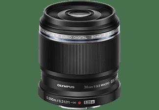 OLYMPUS Objektiv M.Zuiko digital ED 30mm 1:3.5 Macro, schwarz