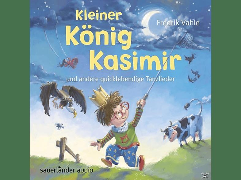 Fredrik Vahle - Kleiner König Kasimir und andere quicklebendige Tanzlieder - (CD)