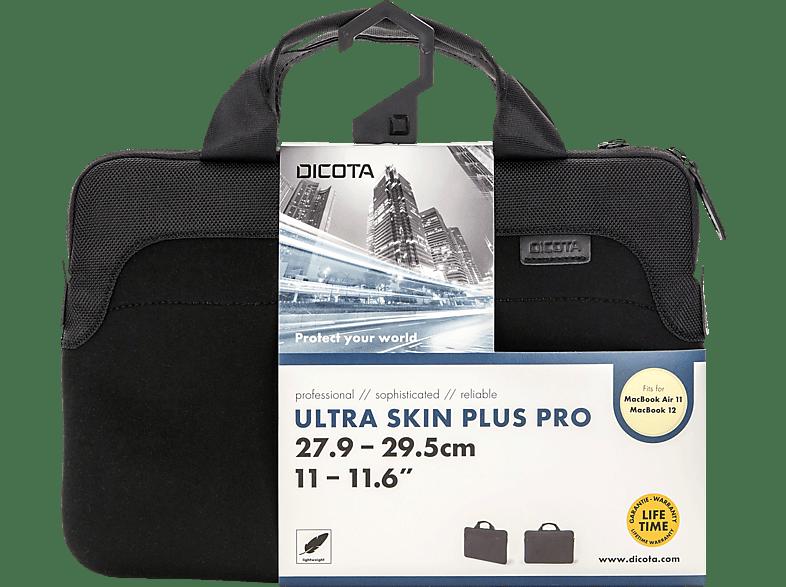 DICOTA Ultra Skin Plus PRO Notebooktasche, Sleeve, 11.6 Zoll, Schwarz