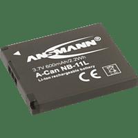 ANSMANN A-Can NB 11 L Akku  , Li-Ion, 600 mAh