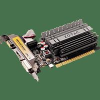 ZOTAC GeForce® GT 730 Low Profile Zone Edition 2GB (NVIDIA, Grafikkarte)
