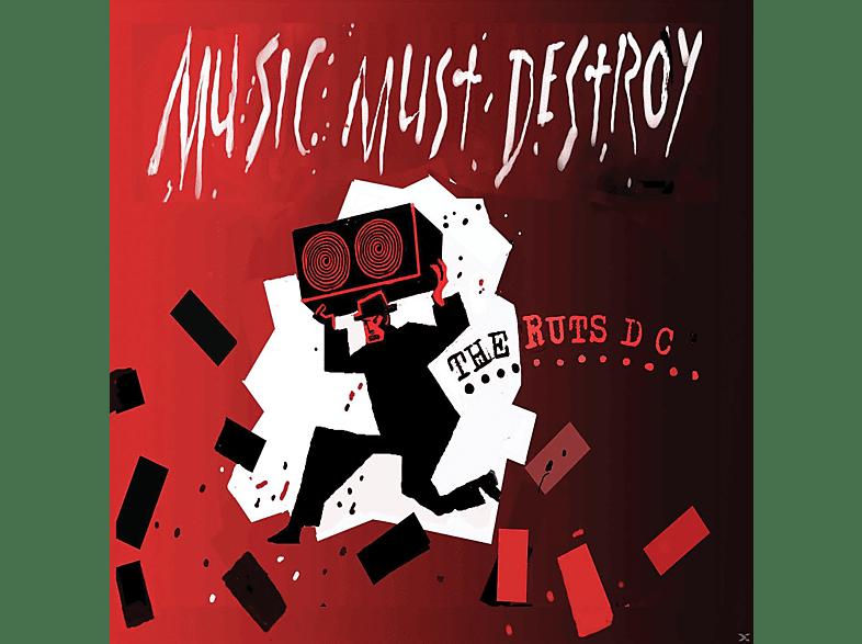 Ruts Dc - Music Must Detroy [CD]