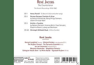 Rene Jacobs - René Jacobs-The Contertenor  - (CD)