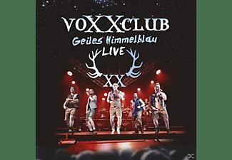 Voxxclub - Geiles Himmelblau-Live  - (CD)