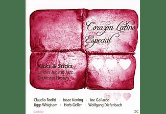 Kicks & Sticks - Landes Jugend Jazz, Kicks & Sticks-landes Jugend Jazz Orchester Hess - Corazon Latino Especial  - (CD)