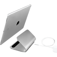 LOGITECH BASE mit Smart Connector-Technologie Tablethülle, 12 Zoll, Silber