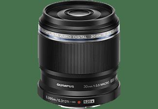 OLYMPUS M. Zuiko Digital ED 30 mm - 30 mm f/3.5 ED, MSC (Objektiv für Micro-Four-Thirds, Schwarz)