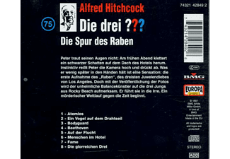 Die drei ??? 75: Die Spur des Raben  - (CD)