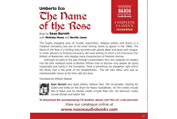 Sean Barrett - The Name of the Rose - (CD)