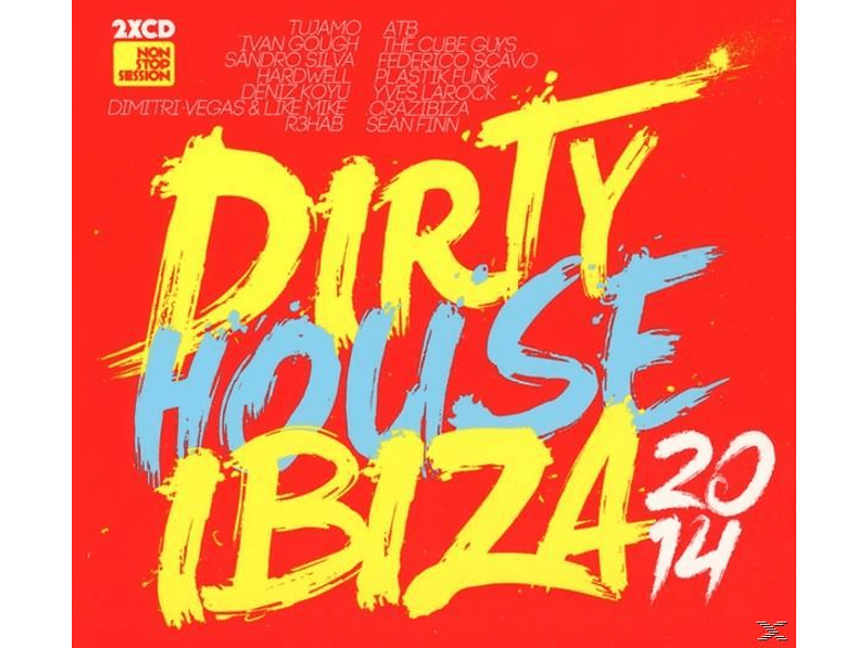 VARIOUS - Dirty House Ibiza 2014 [CD]