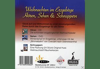 Sehen & Schnuppern Hören - Weihnachten im Erzgebirge  - (CD + DVD)