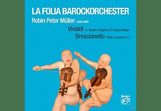Robin Peter Müller, La Folia Barockorchester - Violin Concertos  - (SACD Hybrid)