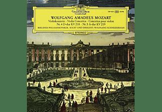 Bp - Wolfgang Amadeus Mozart: Violinkonzert (180g)  - (Vinyl)