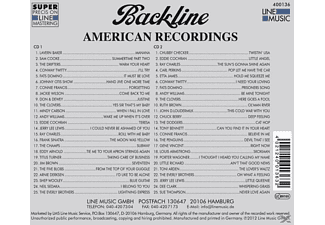 VARIOUS - Backline Vol.136  - (CD)