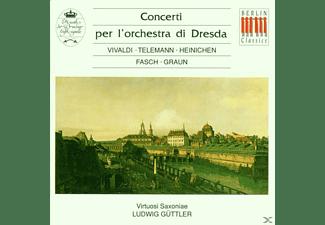 Ludwig Güttler, Vsx - Concerti Per L'orch.Di Dresda  - (CD)
