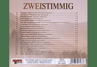 VARIOUS - Zweistimmig G'sungen & G'spielt  - (CD)