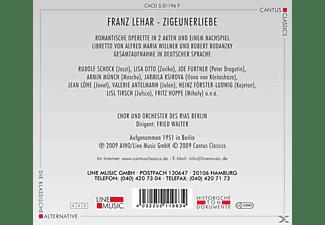 VARIOUS - Zigeunerliebe  - (CD)